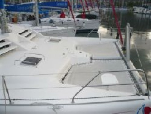 Preowned Sail Catamarans for Sale 2007 Leopard 43  Deck & Equipment